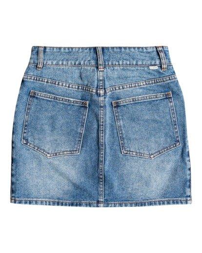 5 According To Indigo - Falda para Mujer Azul U3SK01BIF0 Billabong