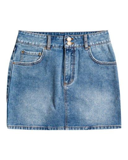 4 According To Indigo - Falda para Mujer Azul U3SK01BIF0 Billabong