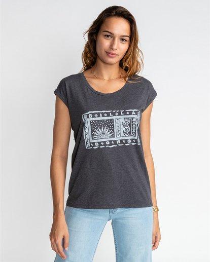 0 All Night - T-Shirt für Frauen Schwarz U3SS08BIF0 Billabong