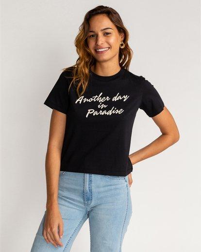 0 Another Day - T-Shirt für Frauen Schwarz U3SS14BIF0 Billabong