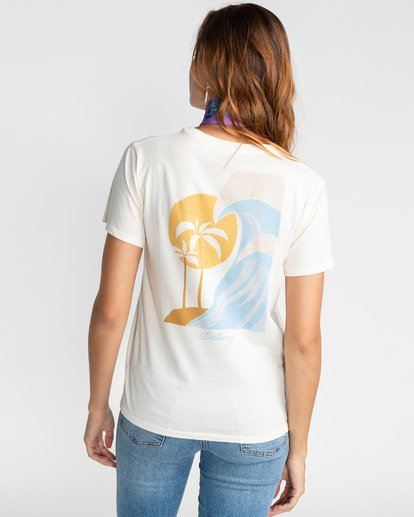 2 Gold Session - Camiseta para Mujer Beige U3SS21BIF0 Billabong