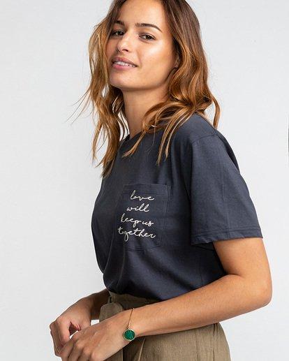 1 Keep Us Together - T-Shirt für Frauen Schwarz U3SS23BIF0 Billabong