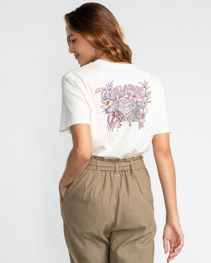 5 Floral Source - T-Shirt für Frauen Beige U3SS24BIF0 Billabong
