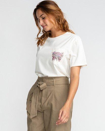 3 Floral Source - T-Shirt für Frauen Beige U3SS24BIF0 Billabong