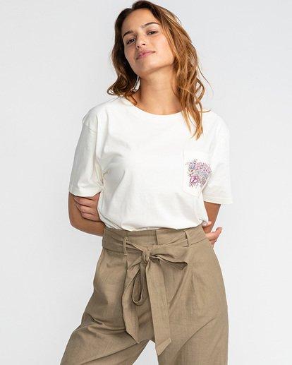 4 Floral Source - T-Shirt für Frauen Beige U3SS24BIF0 Billabong
