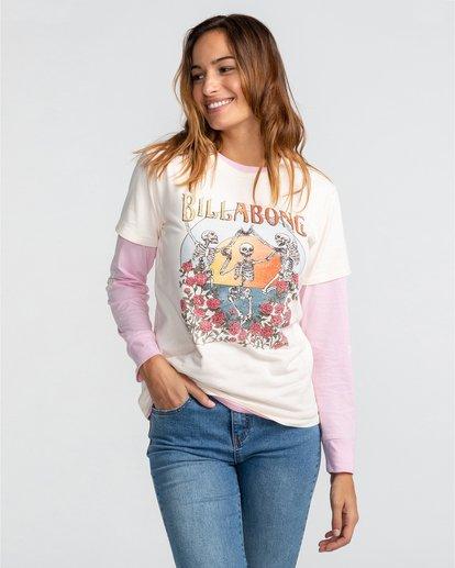 1 Morning Sun - T-Shirt für Frauen Beige U3SS27BIF0 Billabong