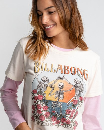 3 Morning Sun - T-Shirt für Frauen Beige U3SS27BIF0 Billabong