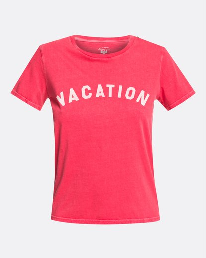 0 Vacation Vibrations - T-Shirt für Frauen Rosa U3SS28BIF0 Billabong