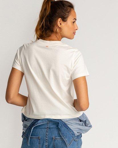 2 Paint The Sky - T-Shirt für Frauen Beige U3SS30BIF0 Billabong