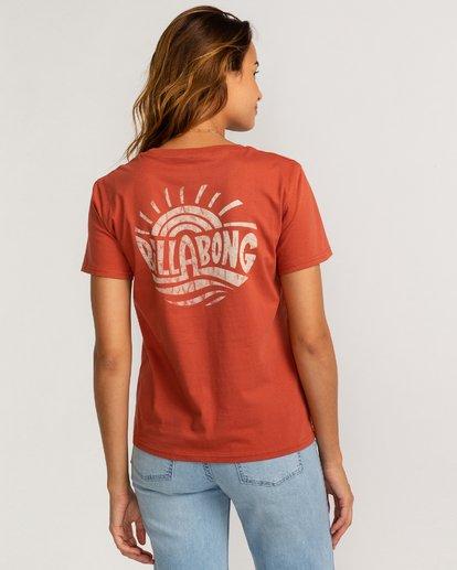 2 Vera Cruise - T-Shirt für Frauen Braun U3SS35BIF0 Billabong