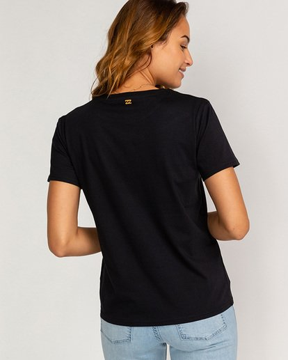 2 Cali - T-Shirt für Frauen Schwarz U3SS36BIF0 Billabong