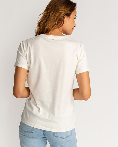 1 Isla Palma - Camiseta para Mujer Beige U3SS38BIF0 Billabong