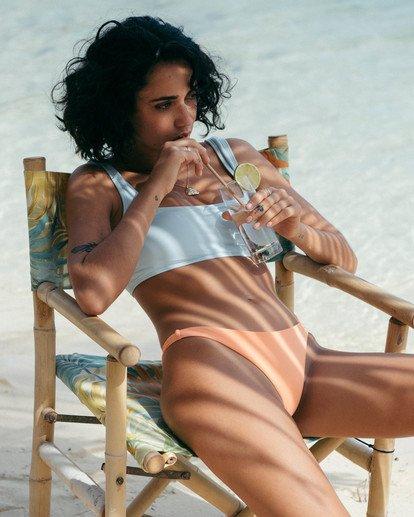 4 Sol Searcher - Top de bikini para Mujer Azul U3ST16BIF0 Billabong
