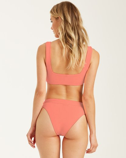 1 Sol Searcher - Top de bikini para Mujer Rosa U3ST16BIF0 Billabong