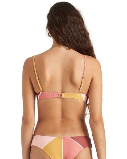 6 In The Rays Brltt - Top de bikini para Mujer Multicolor U3ST40BIMU Billabong