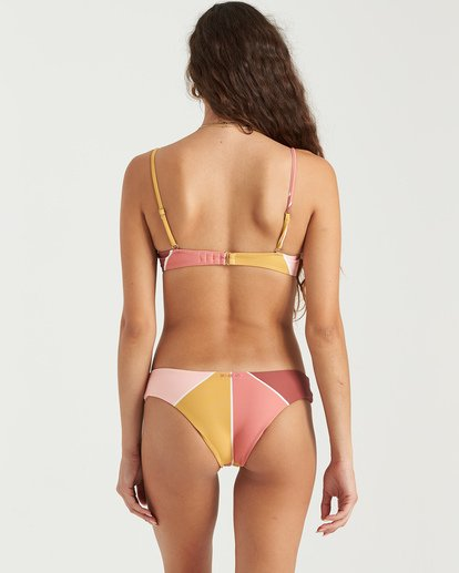 2 In The Rays Brltt - Top de bikini para Mujer Multicolor U3ST40BIMU Billabong