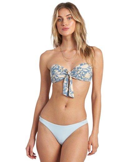 4 Wave Gypsy Bandeau - Top de bikini para Mujer  U3ST43BIMU Billabong