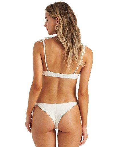 2 Crystal Tides Tali - Bikini Top for Women White U3ST46BIMU Billabong