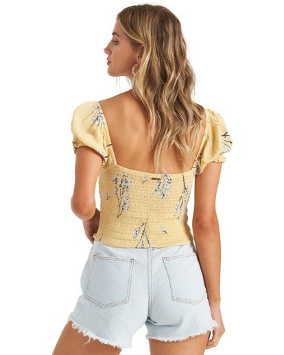 5 Another Sun Honeysuckle - Camisa recortada para Mujer  U3TP42BIMU Billabong
