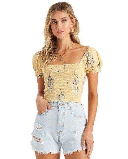 4 Another Sun Honeysuckle - Camisa recortada para Mujer  U3TP42BIMU Billabong