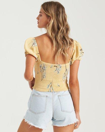 2 Another Sun Honeysuckle - Camisa recortada para Mujer  U3TP42BIMU Billabong