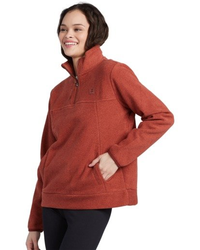 6 Adventure Division Collection Boundary Mock Half Zip - Polar para Mujer  U3WA17BIMU Billabong