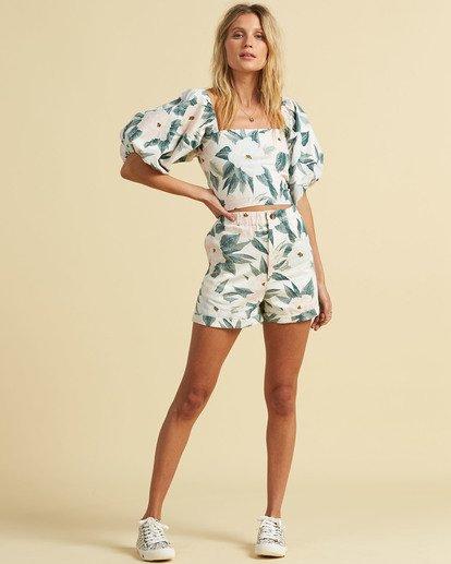 4 Salty Blonde Sun Bleached - Shorts for Women Green U3WK30BIF0 Billabong