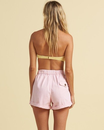 2 Salty Blonde Sun Bleached - Shorts for Women Pink U3WK30BIF0 Billabong