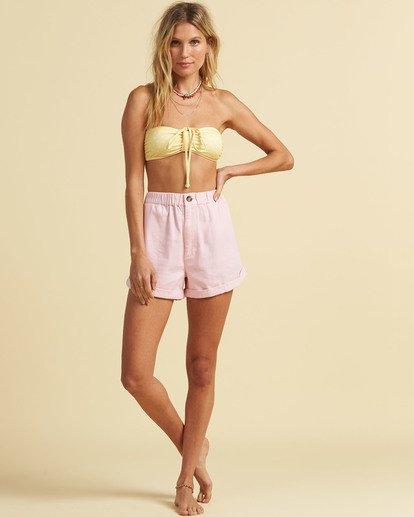 3 Salty Blonde Sun Bleached - Shorts for Women Pink U3WK30BIF0 Billabong