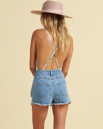 2 Salty Blonde Salt Washed - Shorts for Women Blue U3WK32BIF0 Billabong
