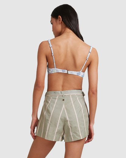 3 Grassroots - Shorts for Women Grün U3WK55BIMU Billabong