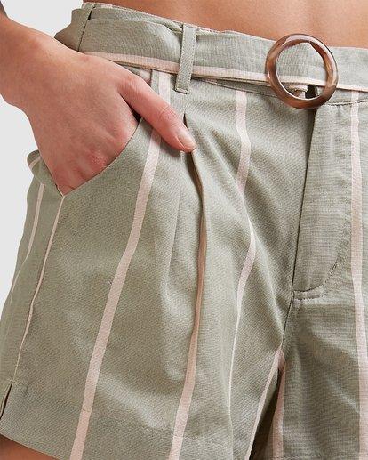 5 Grassroots - Shorts for Women Grün U3WK55BIMU Billabong