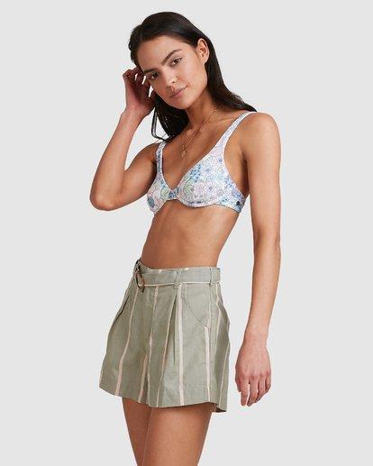 4 Grassroots - Shorts for Women Grün U3WK55BIMU Billabong
