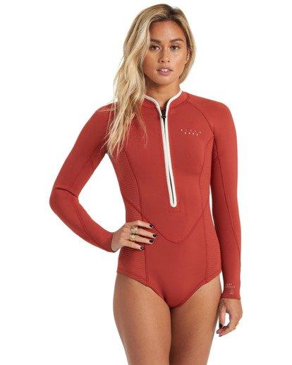 3 Surf Capsule Salty Dayz - Traje de surf de primavera para Mujer Marron U42G32BIF0 Billabong