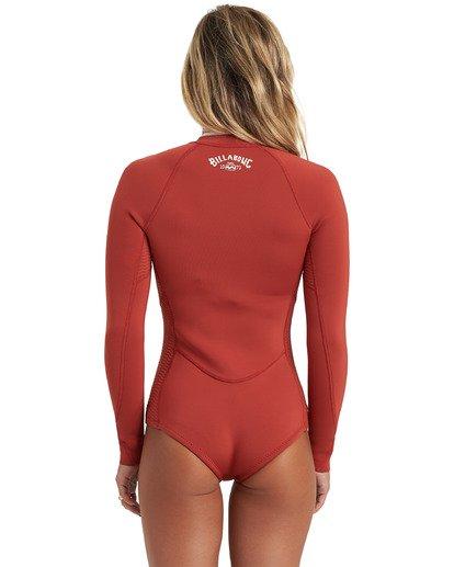 4 Surf Capsule Salty Dayz - Traje de surf de primavera para Mujer Marron U42G32BIF0 Billabong
