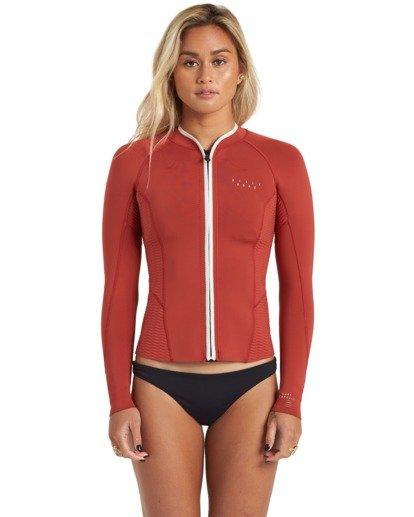 2 Surf Capsule Peeky - Wetsuit Jacket for Women Brown U42G35BIF0 Billabong
