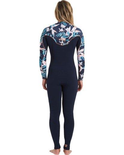 1 Furnace Carbon 3/2mm Comp GBS - Chest Zip Wetsuit for Women Purple U43G32BIF0 Billabong