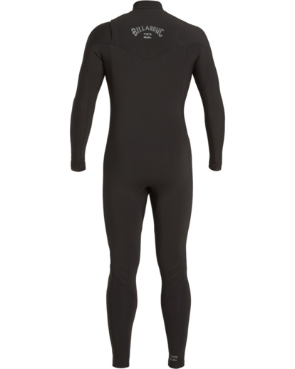 3 Revolution 3/2mm GBS - Chest Zip Wetsuit for Men Black U43M55BIF0 Billabong