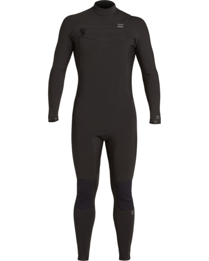 1 Revolution 3/2mm GBS - Chest Zip Wetsuit for Men Black U43M55BIF0 Billabong