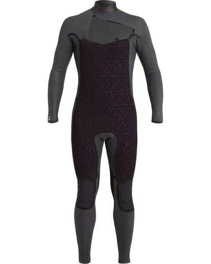 5 Revolution 3/2mm GBS - Chest Zip Wetsuit for Men Black U43M55BIF0 Billabong