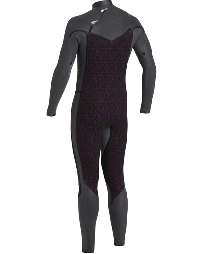 6 Revolution 3/2mm GBS - Chest Zip Wetsuit for Men Black U43M55BIF0 Billabong