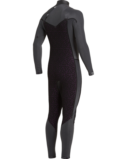 7 Revolution 3/2mm GBS - Chest Zip Wetsuit for Men Black U43M55BIF0 Billabong