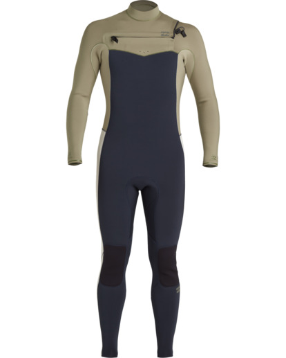 1 Revolution 3/2mm GBS - Chest Zip Wetsuit for Men Blue U43M55BIF0 Billabong