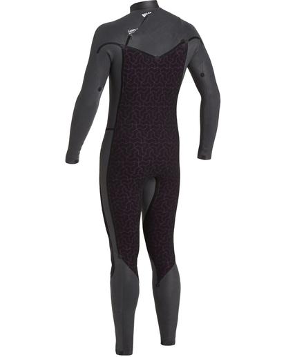 6 Revolution 3/2mm GBS - Chest Zip Wetsuit for Men Blue U43M55BIF0 Billabong