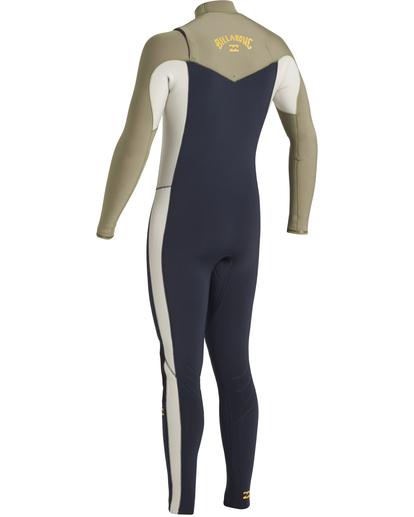 2 Revolution 3/2mm GBS - Chest Zip Wetsuit for Men Blue U43M55BIF0 Billabong