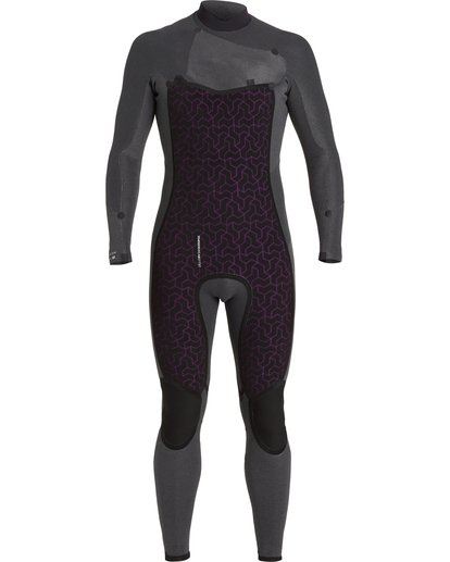 7 Absolute 3/2mm GBS - Chest Zip Wetsuit for Men Black U43M56BIF0 Billabong