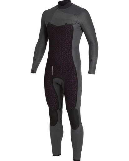 6 Absolute 3/2mm GBS - Chest Zip Wetsuit for Men Black U43M56BIF0 Billabong