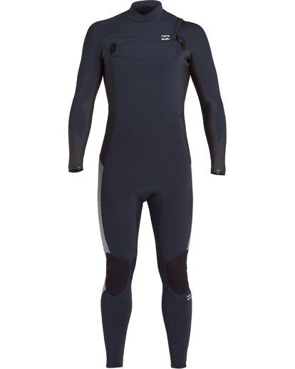 1 Absolute 3/2mm GBS - Chest Zip Wetsuit for Men Blue U43M56BIF0 Billabong