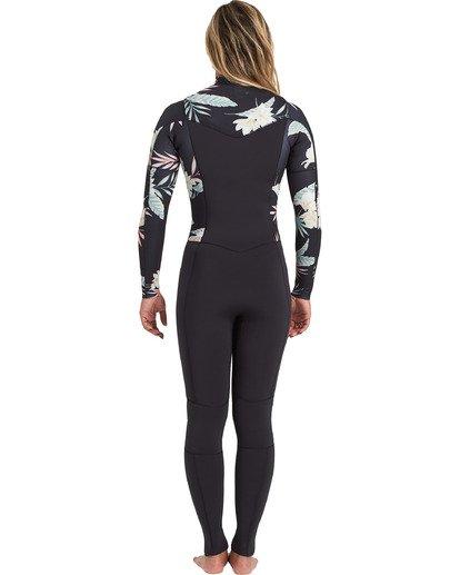 3 Surf Capsule 4/3mm Salty Dayz - Traje de surf para Mujer Negro U44G30BIF0 Billabong