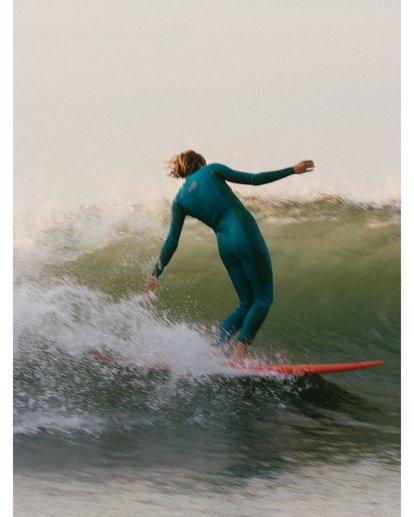 0 Synergy 4/3mm GBS - Chest Zip Wetsuit for Women Blue U44G34BIF0 Billabong